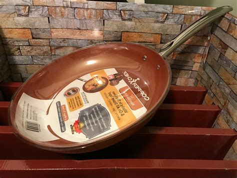 copper chef   nonstick fry pan cook kitchen