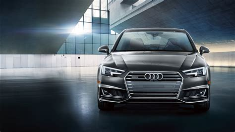 Wallpaper A4 by 2019 Audi A4 Exterior Front Side View Hd Wallpaper 2019