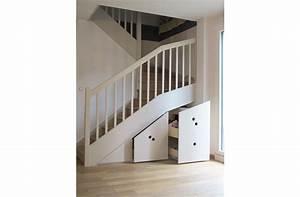 Placard Coulissant Sous Escalier Leroy Merlin : rangement sous escalier coulissant trendy with rangement ~ Dailycaller-alerts.com Idées de Décoration