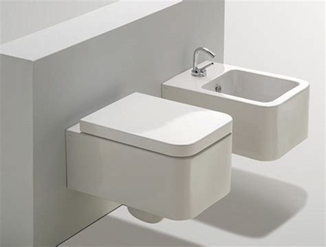 Commode Bidet Combination by Suspended Toilet And Bidet From Simas New Addition To