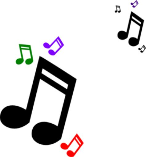 high quality musical notes clipart small