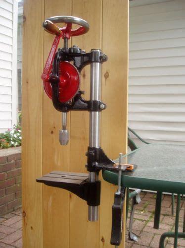 goodell pratt  hand operated drill press