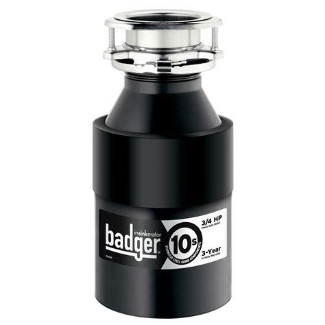 badger sink disposal troubleshooting shop insinkerator badger 10s 3 4 hp garbage disposal no at