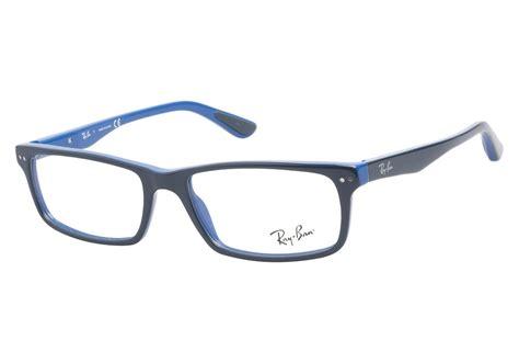 blue glasses ray ban rb5277 5137 oil blue ray ban glasses coastal com 174