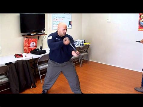 security guard baton training youtube