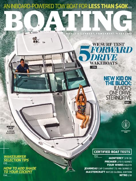 Largest Boating Magazine by Boating Magazine The World S Largest Powerboat Magazine
