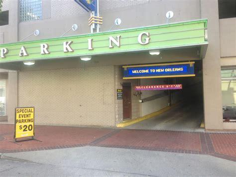 fulton parking garage new orleans 901 convention center blvd garage parking in new orleans