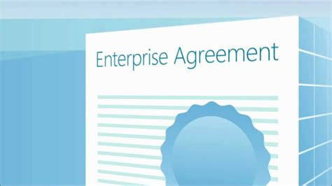 microsoft enterprise agreement features introduction youtube