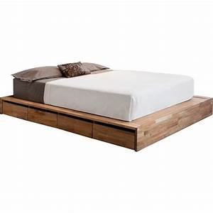 how to build platform bed frame with drawers Quick