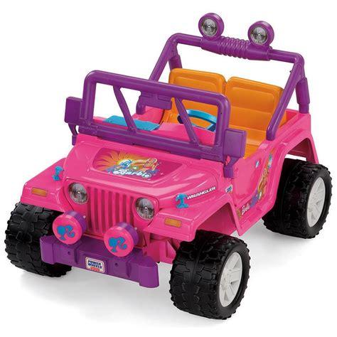 power wheels jeep 90s los mejores juguetes de barbie que todas las ni 241 as quer 237 an