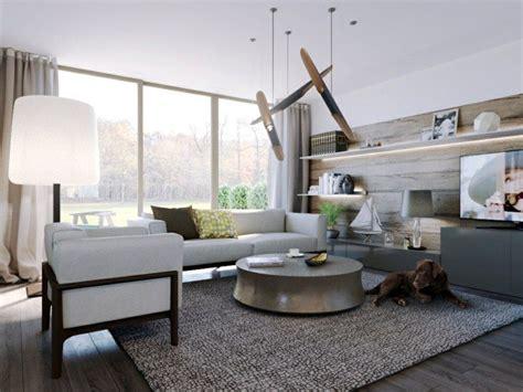 canape loft taupe idée peinture salon couleurs neutres dans les intérieurs
