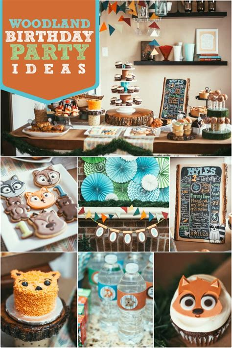 1st birthday party ideas for boys right start on a a boy s woodland 1st birthday party spaceships and laser