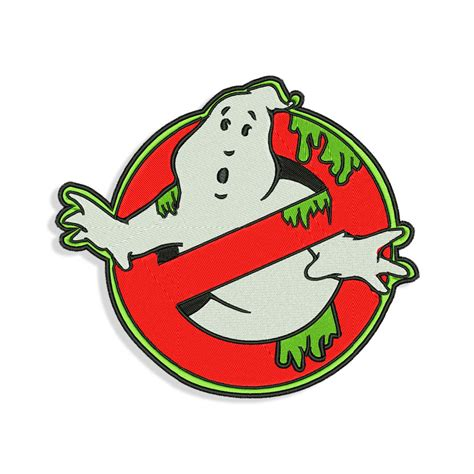 ghostbusters embroidery design machine embroidery