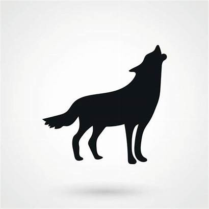 Wolf Vector Clip Coyote Illustrations Icon Icons