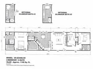 16x80 mobile home floor plans cavareno home improvment