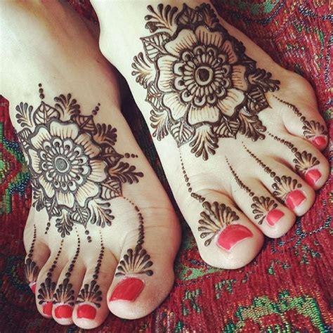 top  foot henna designs stayglam