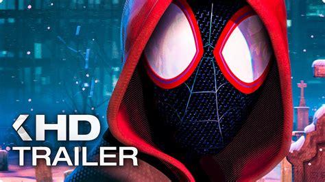 animated spider man   spider verse trailer