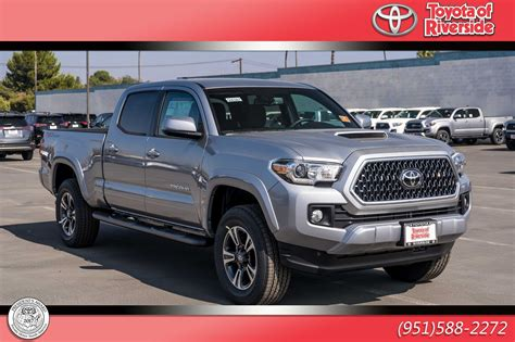 New 2019 Toyota Tacoma Trd Sport Double Cab In Riverside