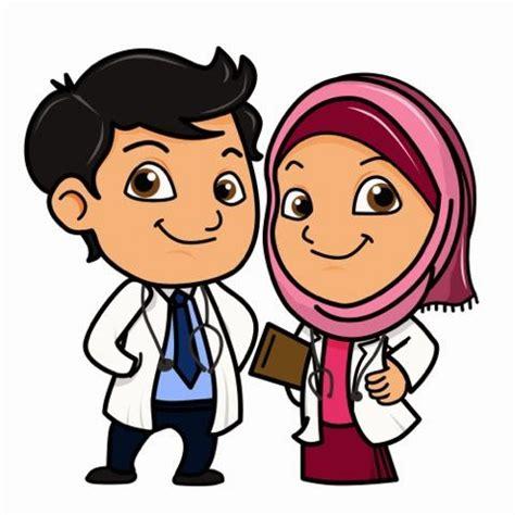 hanimofa    time muslimah doctor doodle