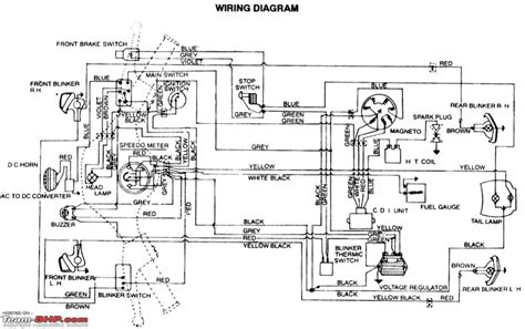 bajaj pulsar 150 electrical wiring diagram 42 wiring