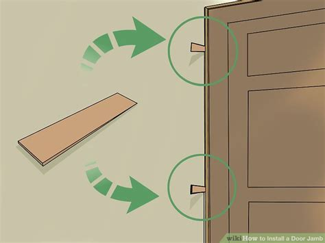 how to replace door jamb how to install a door jamb 15 steps with pictures wikihow