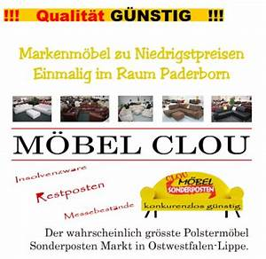 Möbel Clou Paderborn : clou m bel outlet paderborn adressen fabrikverkauf ~ Pilothousefishingboats.com Haus und Dekorationen