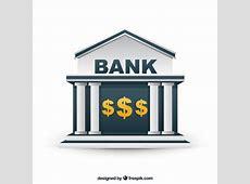 Bank building Vector Free Download