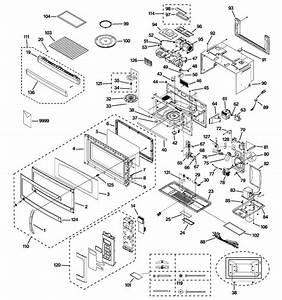 Ge Model Jnm1851sm2ss Microwave  Hood Combo Genuine Parts