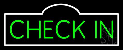 green check  neon sign check  check  neon signs