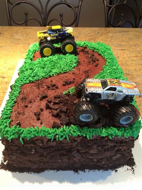 monster truck cake  years blaze   monster