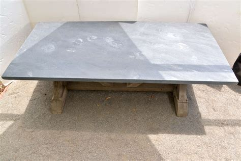 reclaimed dining table top blue stone top dining table made from reclaimed pine at