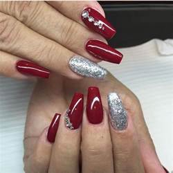 Best ideas about christmas acrylic nails on