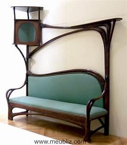 Art Nouveau Mobilier : grand canap art nouveau meuble de style ~ Melissatoandfro.com Idées de Décoration