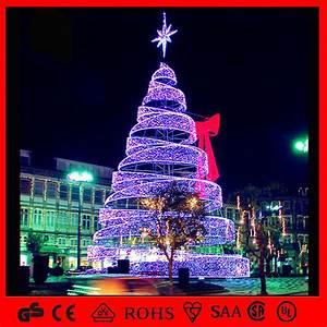 China, Led, Outdoor, Decoration, Light, Spiral, Christmas, Tree, Light