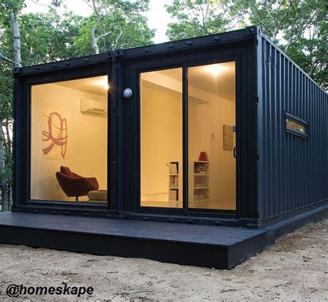 homeskape shipping container home homeskape black series