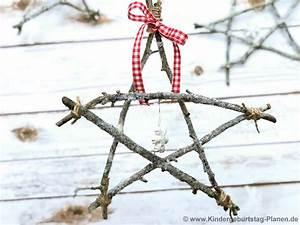 Basteln Mit Zweigen : weihnachtssterne aus zweigen kindergeburtstag ~ Watch28wear.com Haus und Dekorationen