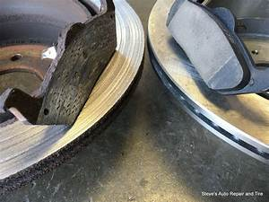 Good Vs Bad Brake Pads And Rotors Found During A Virginia