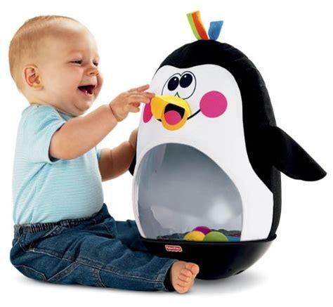 baby penguin toys fisher toy wobble bat kick pop boy go bath gifts blow brainstorm walmart fun bats boys babies