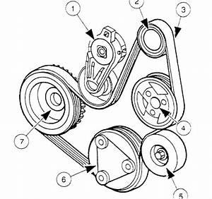 98 Ford Escort  2 0  Serpentine Drive Belt Routing