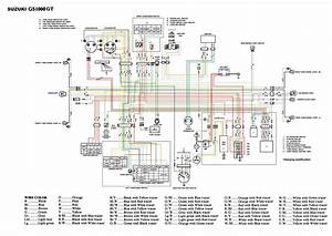 Suzuki Gs400 Wiring Diagram With Electrical Pictures For