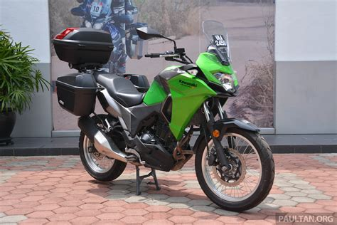 Kawasaki Versys X 250 Image by 2017 Kawasaki Versys X 250 Gets Prototype Givi Boxes