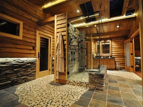 stone bathroom ideas original decorations  great
