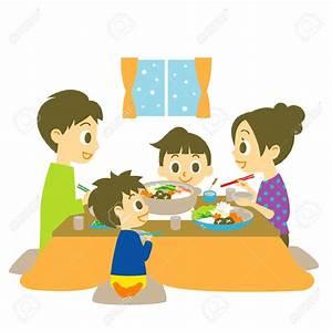 Family Dinner Clipart – 101 Clip Art