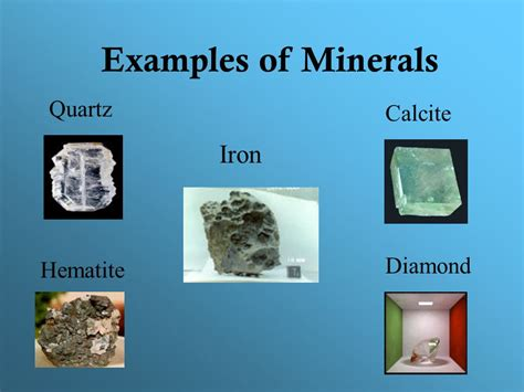 Science Physical Properties Examples