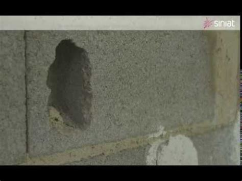 comment reboucher un trou dans un mur avec gecko