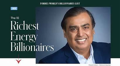 Billionaires Forbes Energy Oil Banerjee Ritam