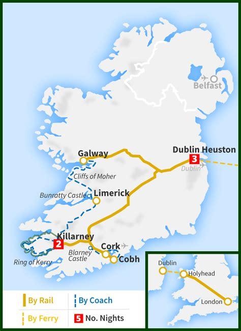 Six Day London Dublin Blarney Ring Kerry Cliffs