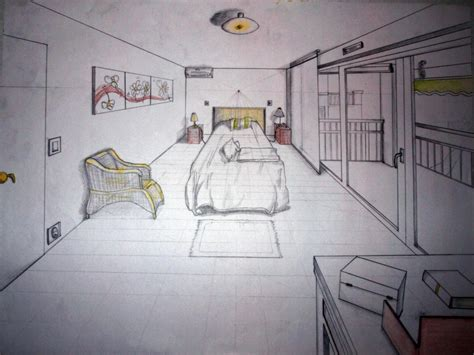 dessin chambre stunning dessin chambre perspective pictures ridgewayng