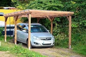 Carport Aus Holz : carport einzelcarport flachdachcarport 3m x 5m unterstand aus holz mit dach neu ebay ~ Orissabook.com Haus und Dekorationen