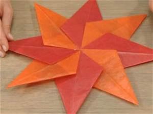 Sterne Aus Papier Falten : weihnachtssterne basteln videoanleitungen ~ Buech-reservation.com Haus und Dekorationen